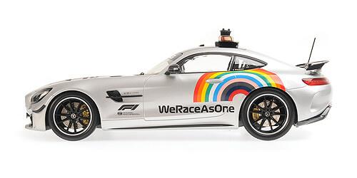 Minichamps Safety car Formule  1 - 2020 - Mercedes Benz AMG GT-R 1/18