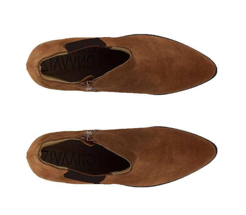 Brown ankleboot Charlotta