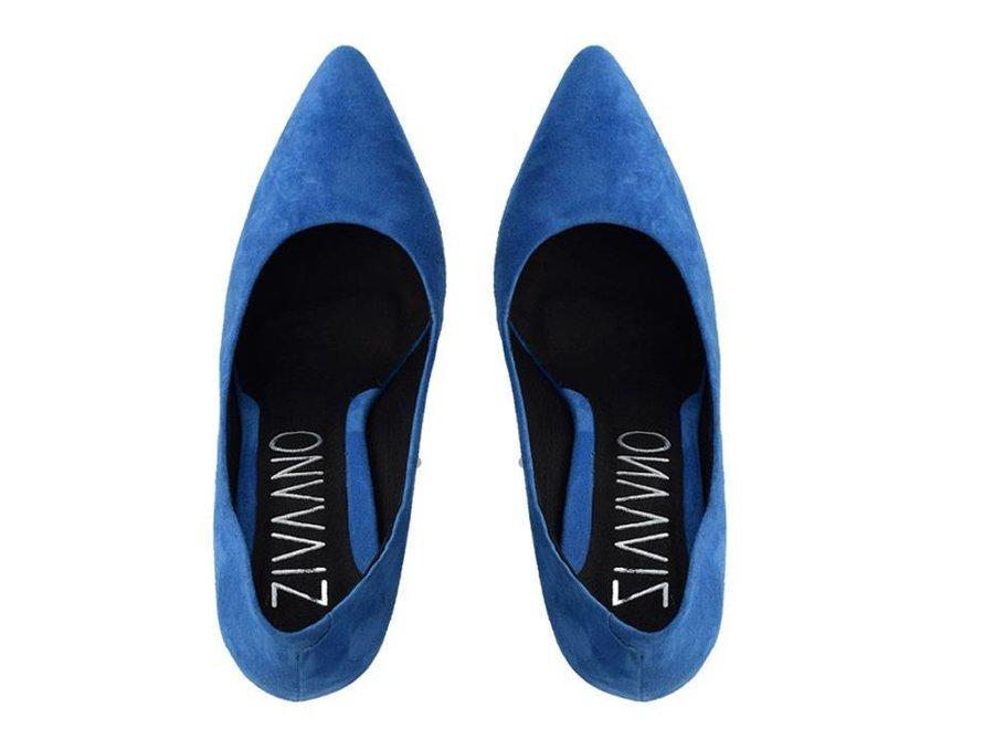Royal blue heels Julie