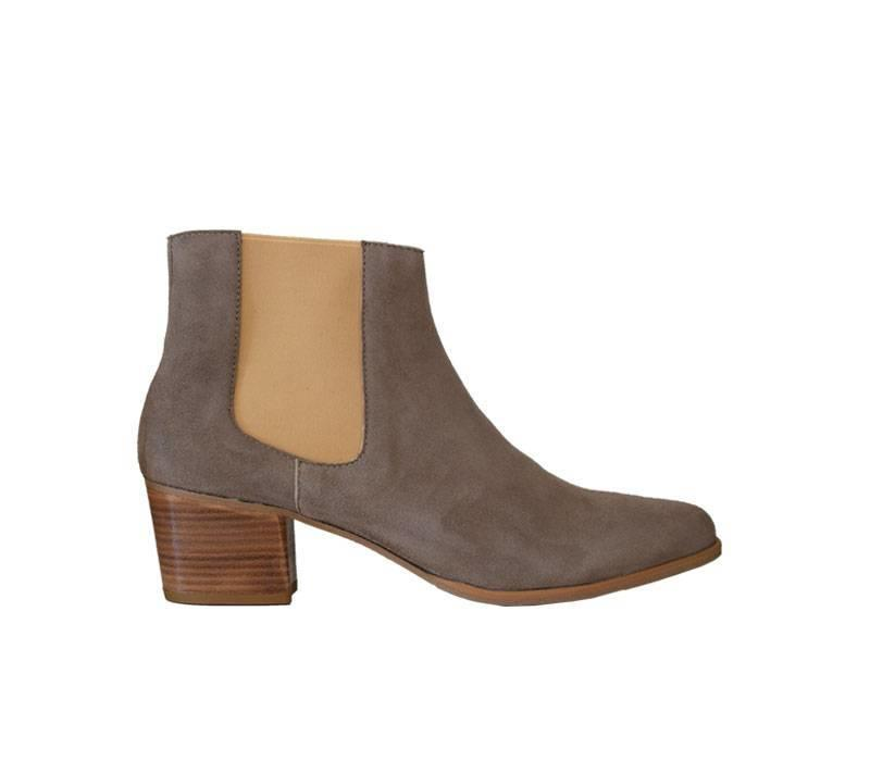 Beige ankleboot Clarice