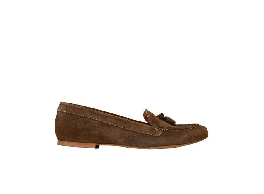 Brown loafers Karina