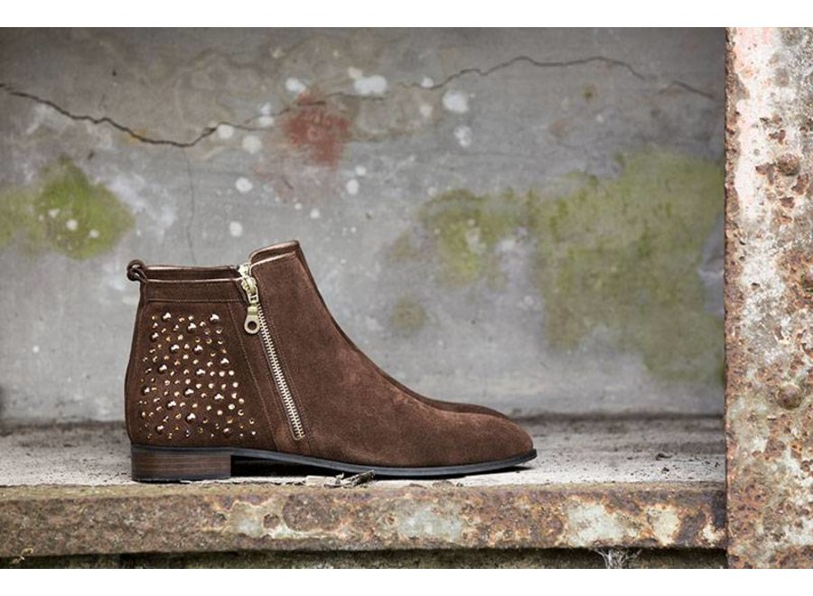 Brown ankleboot Coco