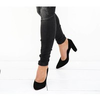 Black heels Sonje