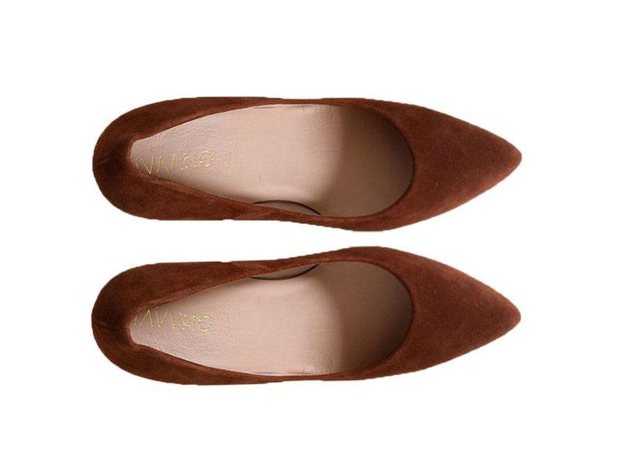 Heels Emma Brown/ cognac