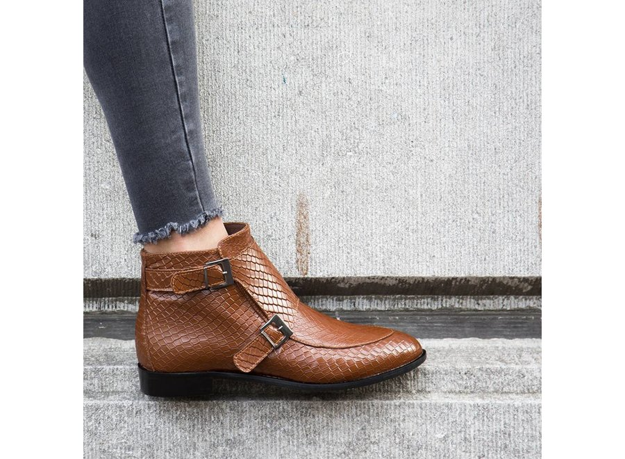 Ankleboot Charlotte - cognac