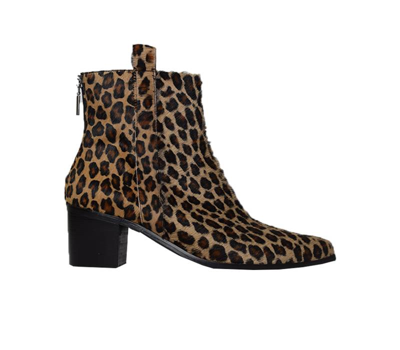 e2ad6514a07 ZIVAANO -Ankleboot Cato leopard - Women s shoes in plus sizes - Zivaano