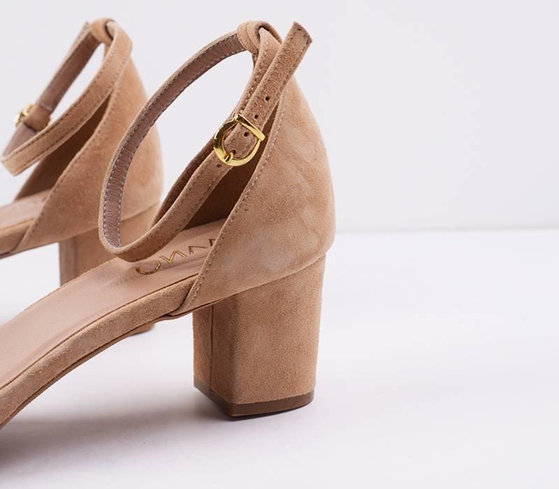 Heels Fabienne - beige