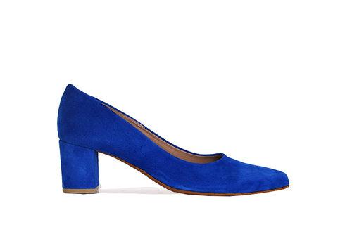 Heels Fleur - electric blue