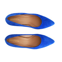 Electric Blue heels Fleur