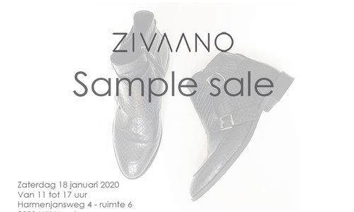 ZIVAANO - SAMPLE SALE  zaterdag  18 januari