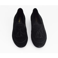 Black loafers Karina