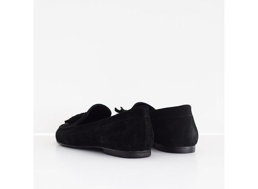 Zwarte loafer Karina