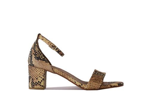 Heels Fabienne - snake - PRE-ORDER