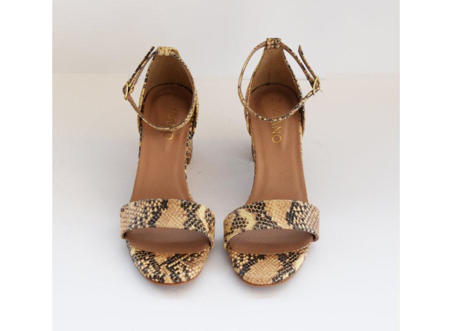 Heels Fabienne - snake