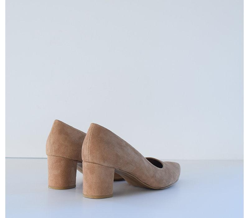 Beige heels Fleur