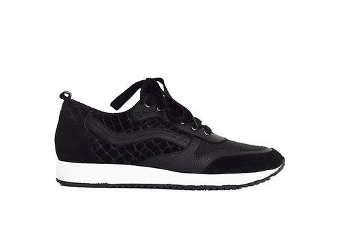 Sneaker Roos- zwart