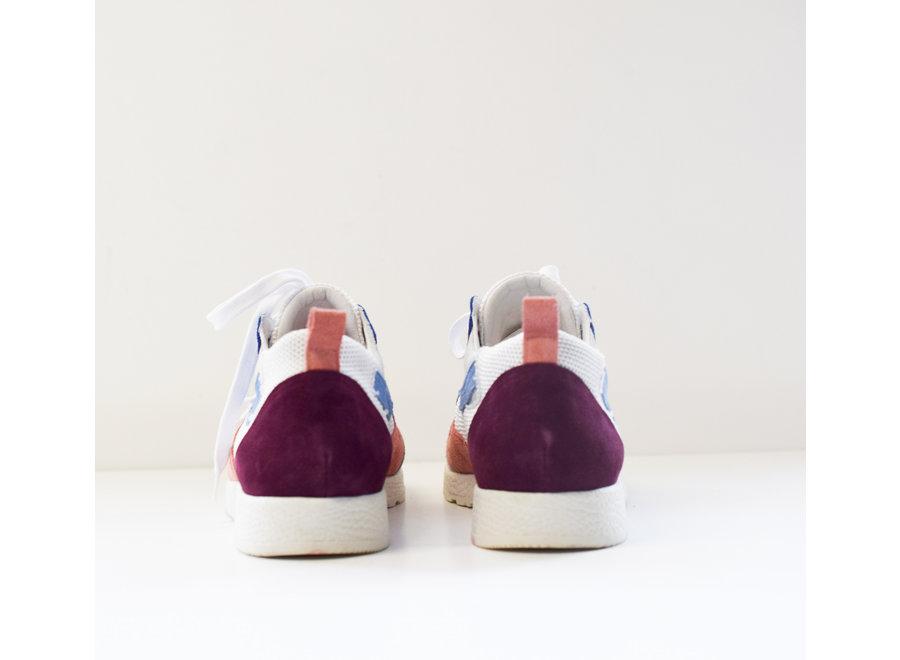 Sneaker Roos roze/blauw