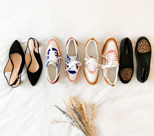 Complete collection women's shoes