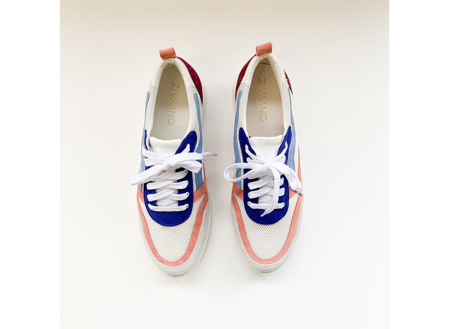 Sneaker Roos - pink/blue