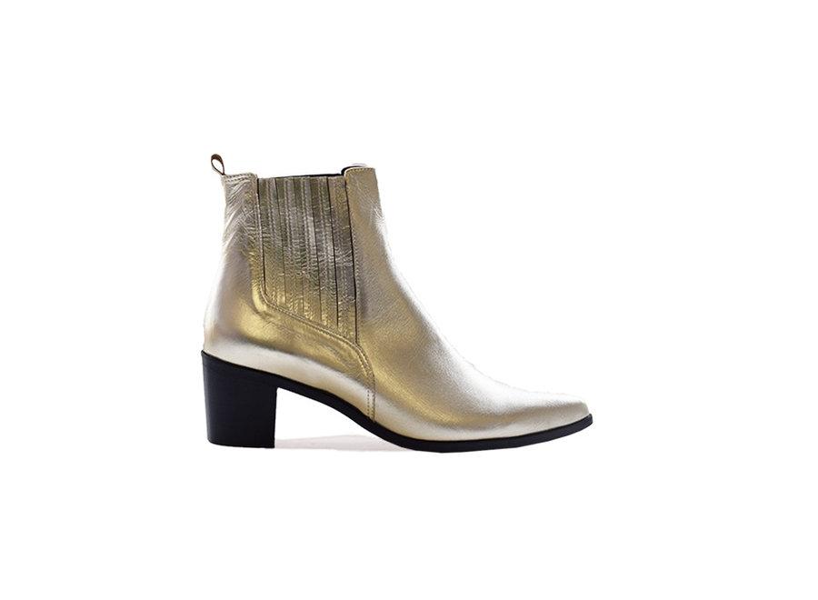 Ankleboot Maartje in gold
