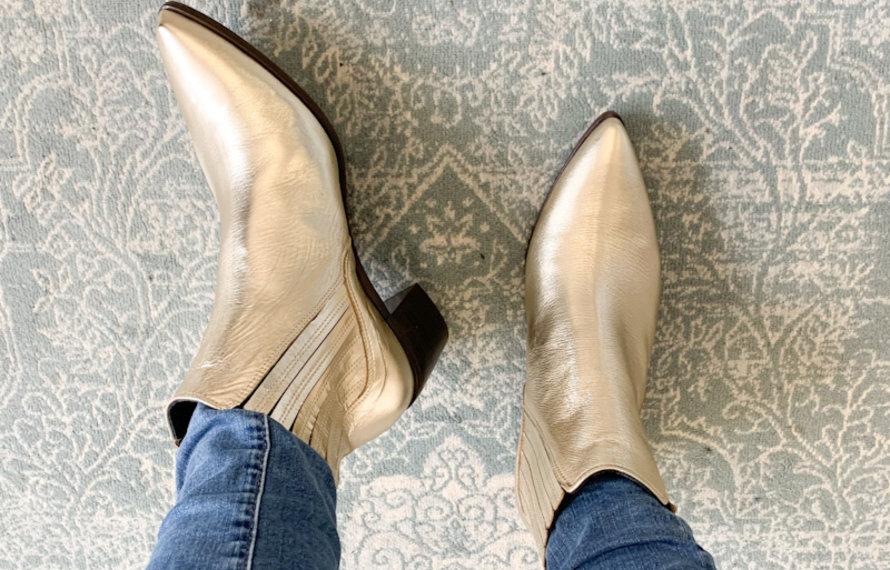 ZIVAANO - Onderhoud van metallic schoenen