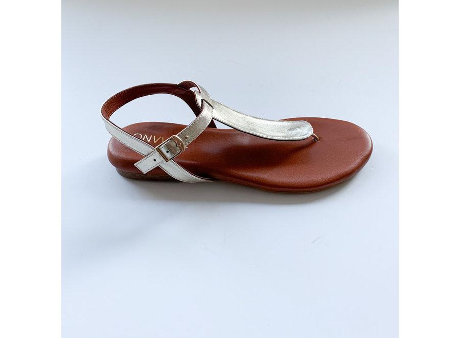 Sandaal Emma goud