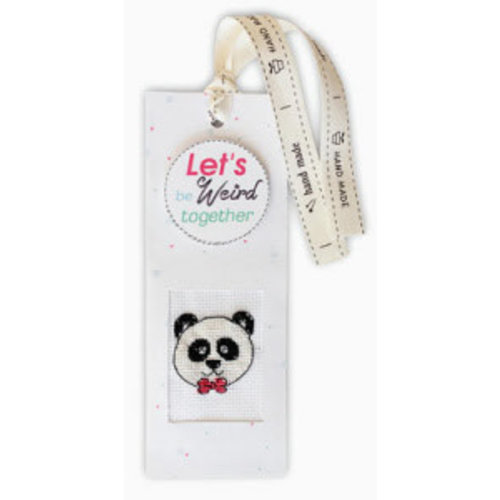 Luca-S Bookmark Let's be weird together