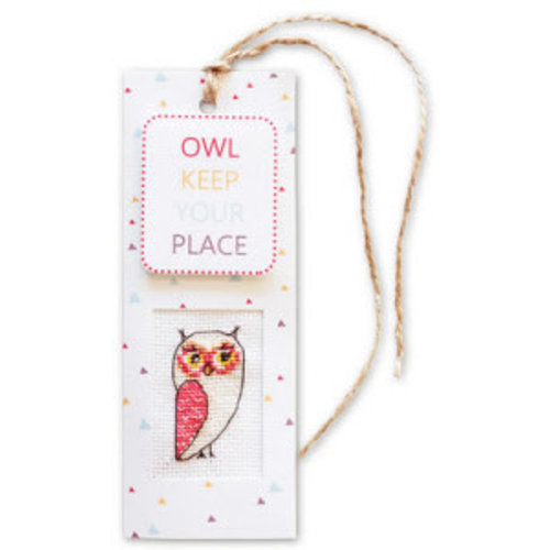 Luca-S Bookmark Owl keep your place
