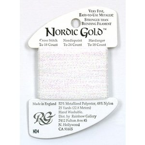 Rainbow Gallery Nordic Gold White Pearl