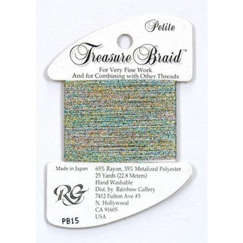 Rainbow Gallery Treasure Braid Confetti Blue