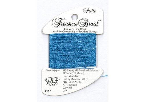 Rainbow Gallery Treasure Braid Blue