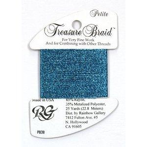 Rainbow Gallery Treasure Braid Azure Blue