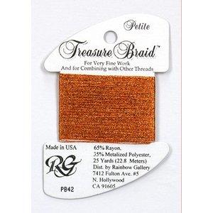 Rainbow Gallery Treasure Braid Autumn Orange