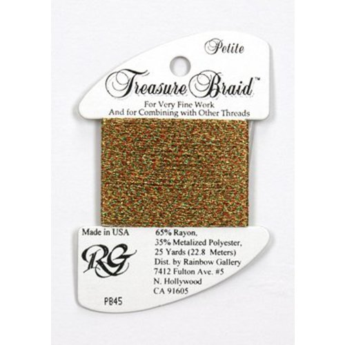 Rainbow Gallery Treasure Braid Christmas