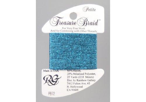Rainbow Gallery Treasure Braid Agaen Blue