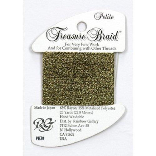 Rainbow Gallery Treasure Braid Antique Gold