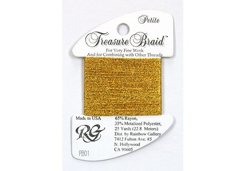 Rainbow Gallery Treasure Braid Bright Gold