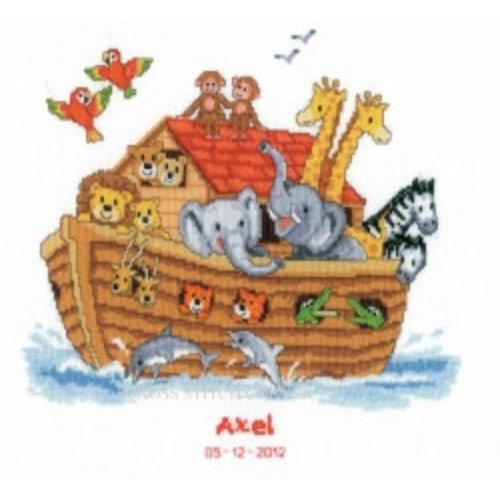 Vervaco Telpakket kit Ark van Noah