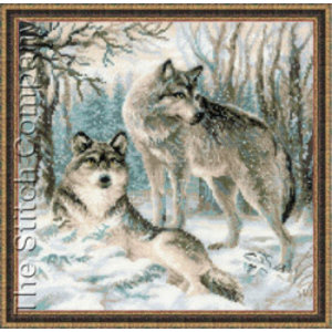 RIOLIS Pair of Wolves
