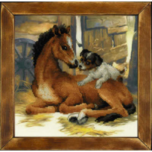 RIOLIS Veulen en Puppy