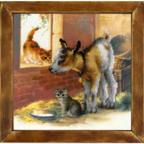 RIOLIS Geitje en Kittens