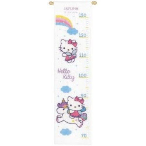 Vervaco Telpakket kit Hello Kitty met regenboog
