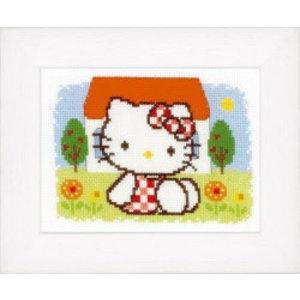 Vervaco Telpakket kit Hello Kitty Zomer