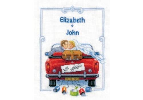 Vervaco Elizabeth en John