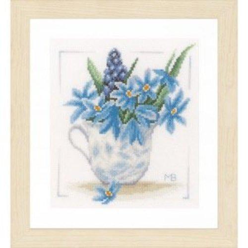 Lanarte Telpakket kit Blauwe druifjes