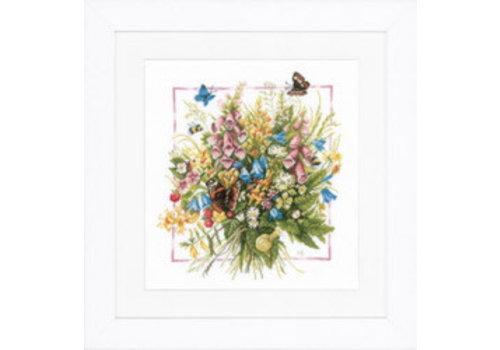 Lanarte Marjolein Bastin - Summer bouquet with butterfly