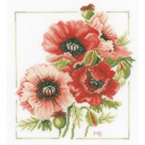 Lanarte Telpakket kit Boeket van anemonen