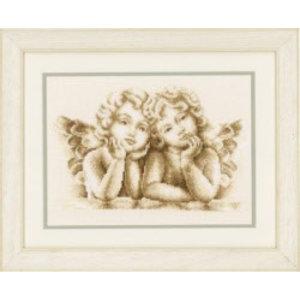 Vervaco Telpakket kit Dromende engeltjes