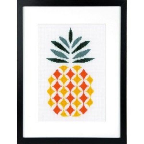 Vervaco Telpakket kit Ananas