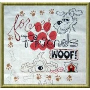 Alessandra Adelaide Needleworks My Dog Sampler